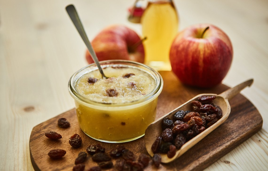 California Raisins Apfel Ingwer Calvadosrosinen Fruchtaufstrich