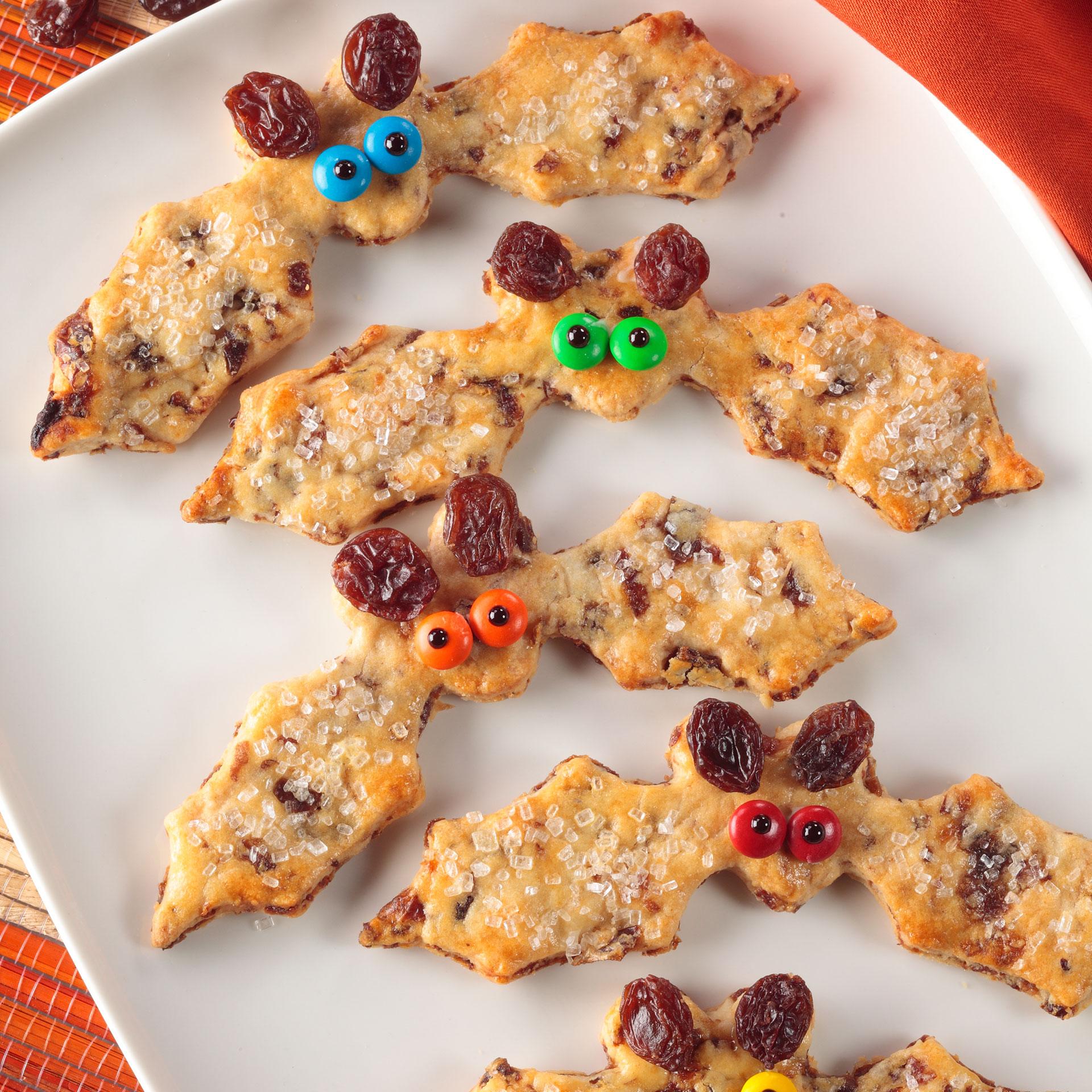 California Raisins Knusper-Fledermäuse und Grusel-Gebisse zu Halloween
