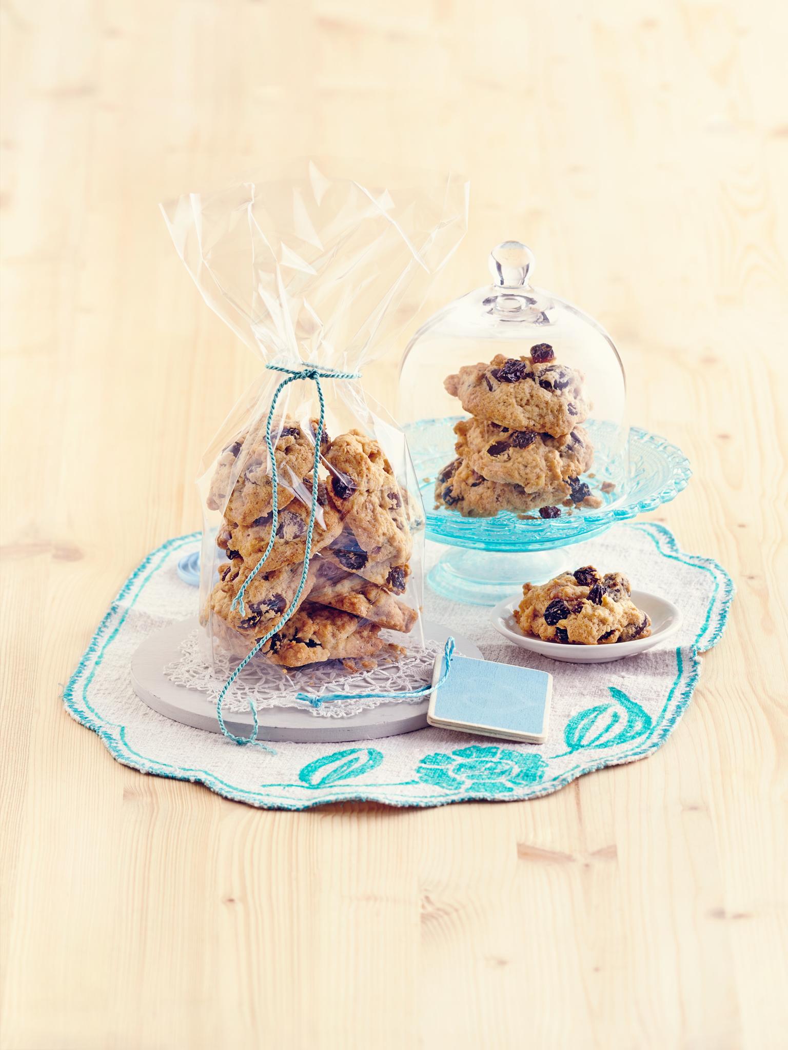 California Raisins Espresso-Walnuss-Rosinen-Cookies: aufgeweckt zum dritten Advent