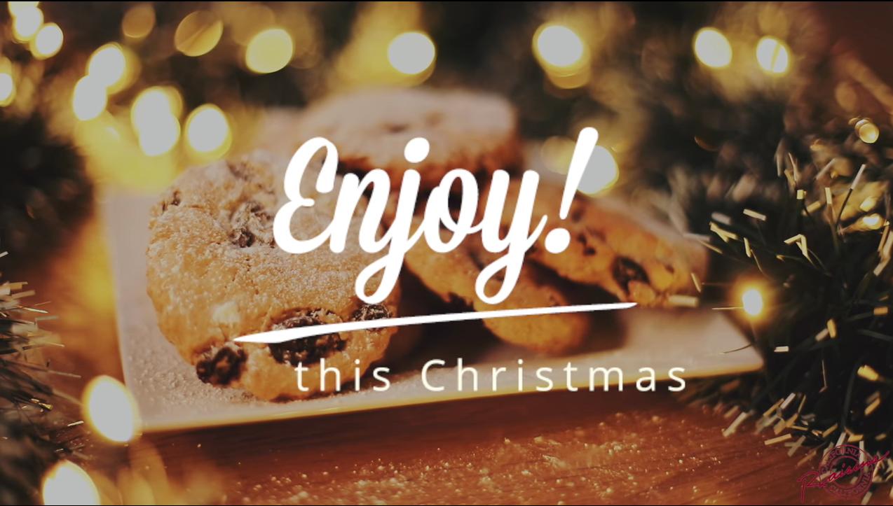 California Raisins Würzige Weihnachtskekse mit kalifornischen Rosinen