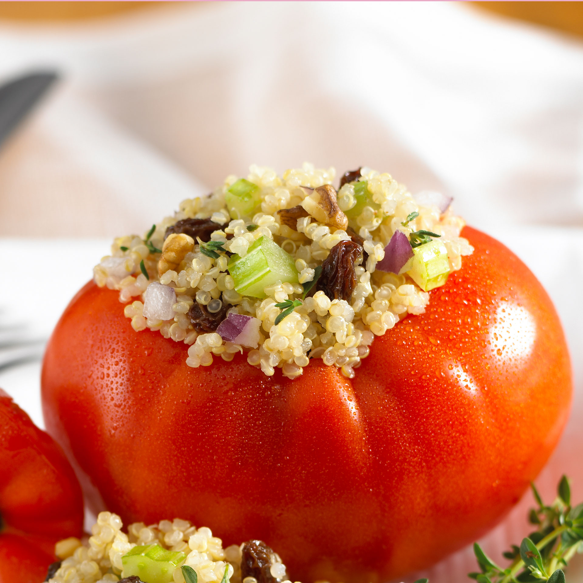 California Raisins Sommer-Quinoa-Salat für heiße Tage