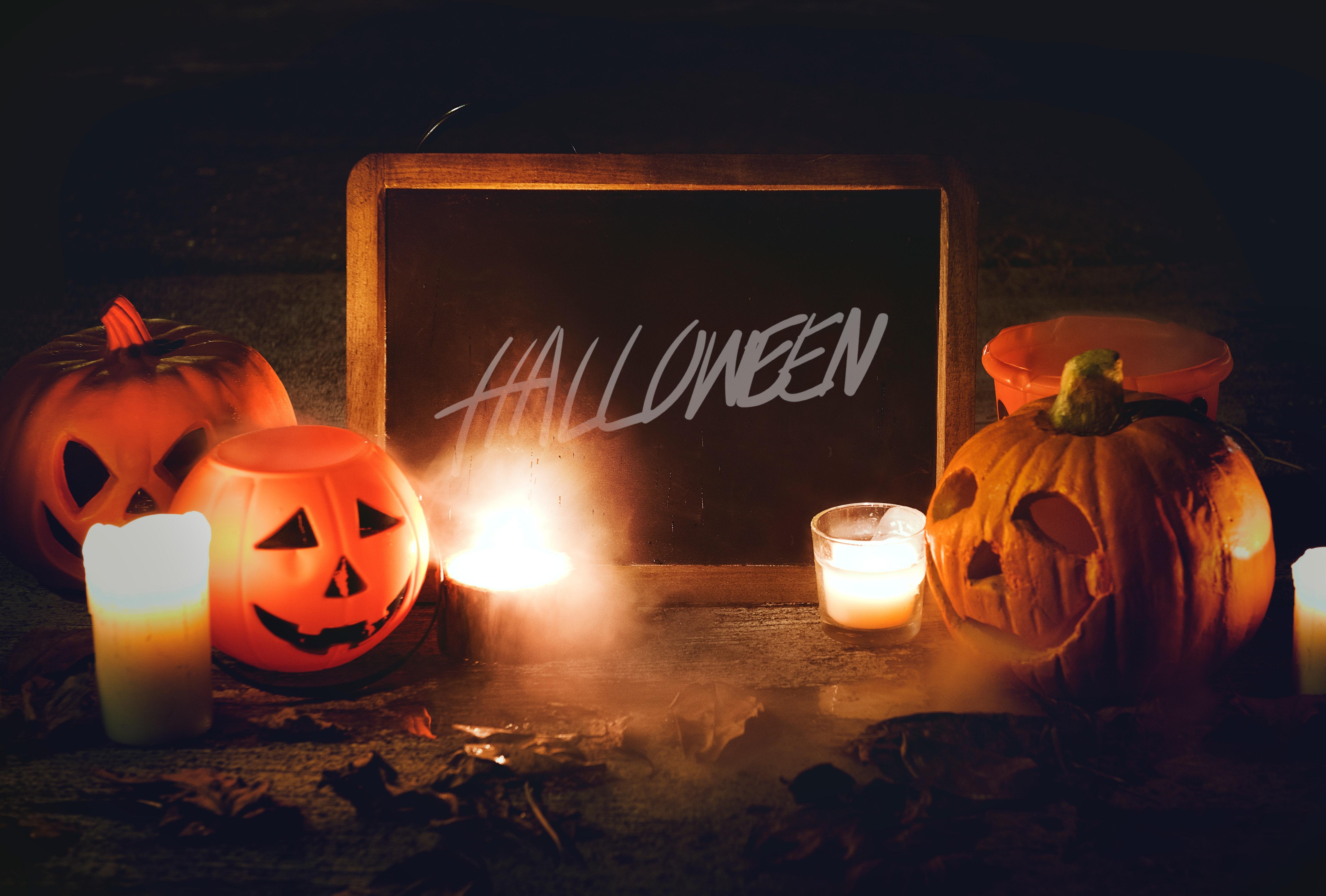 Schaurige Halloween-Deko