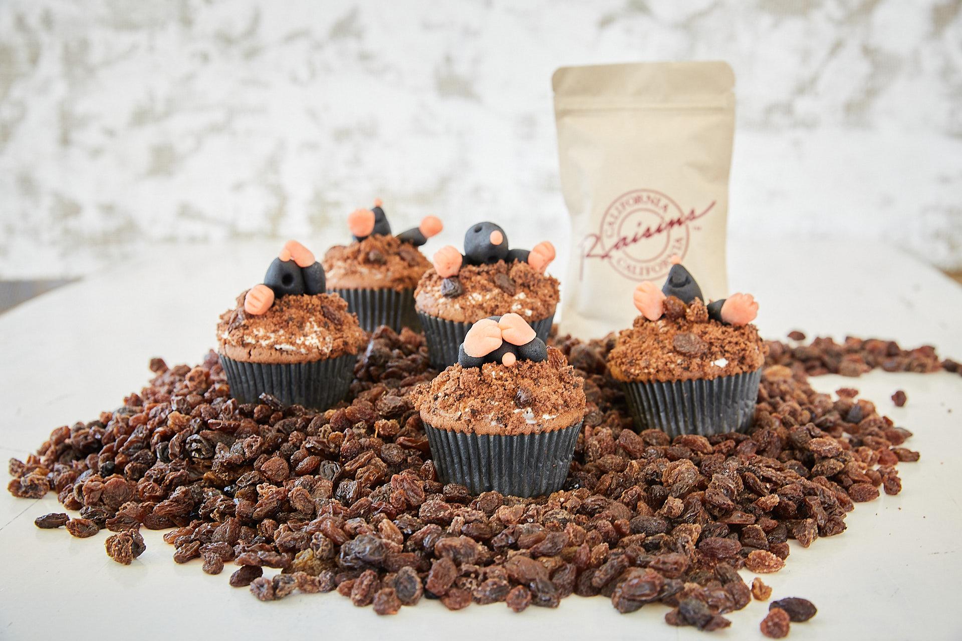 California Raisins Tag der Rosine Maulwurf als Tier des Jahres