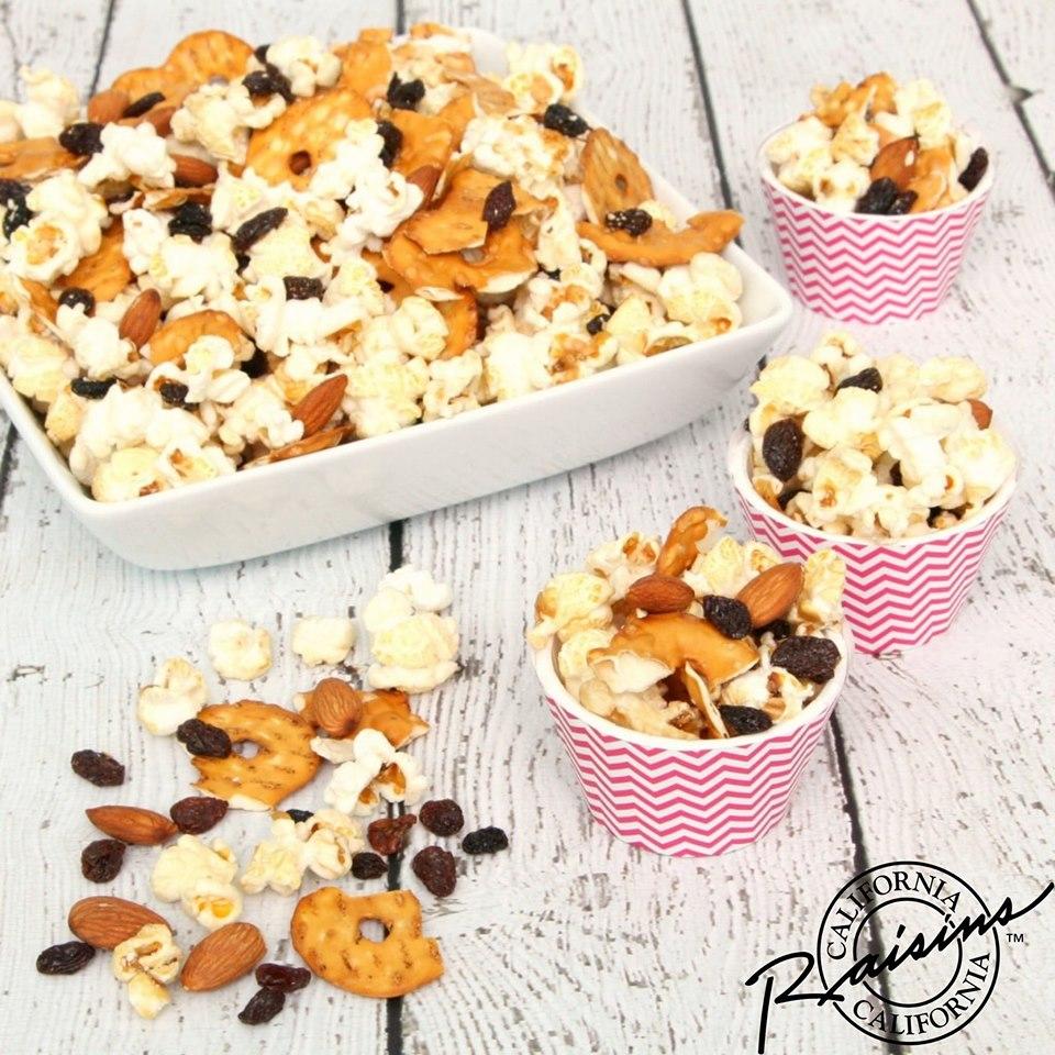 California Raisins Netflix and Rosinen-Popcorn