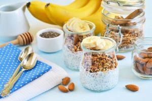 Chia-Joghurt mit Banane